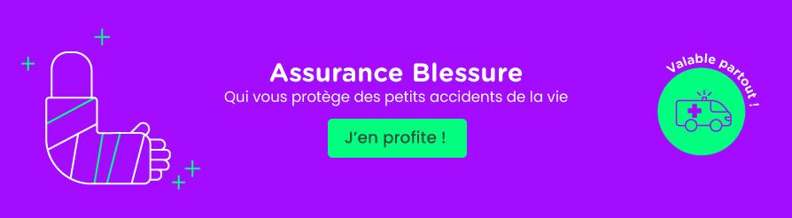 Assurance blessure
