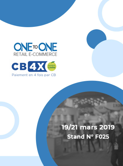 Le CB4X au salon one to one