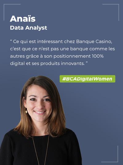 Anaïs LAPEYRE, Data Analyst