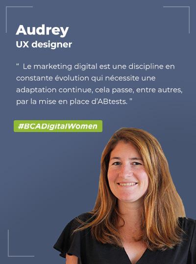 Audrey GRENIER, UX Designer
