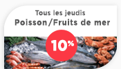 Avantages Poissonnerie