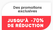 Des promotions exclusives 7