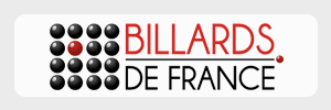 Logo Billards de France - Partenaire FLOA Bank